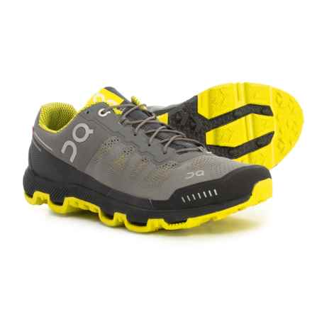 On Cloudventure Trail Running Shoes (For Men) in Grey/Sulphur - Closeouts