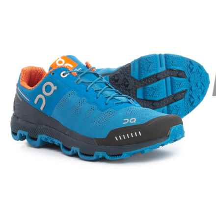 On Cloudventure Trail Running Shoes (For Men) in River/Signal - Closeouts