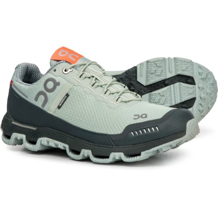 newest c1809 f168c On Cloudventure Trail Running Shoes - Waterproof (For Women) in  MineralOlive -