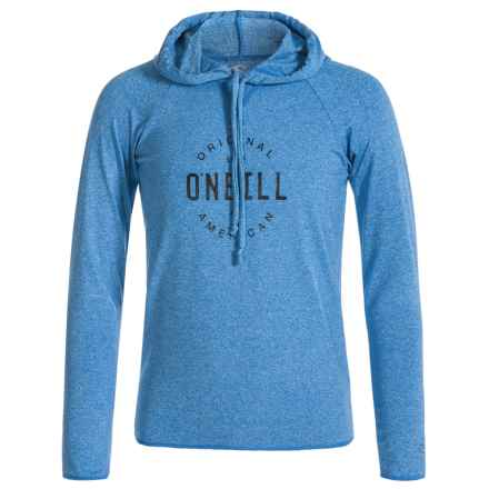 O'Neill 24-7 Hybrid Hoodie Shirt - Long Sleeve (For Little and Big Kids) in Brite Blue - Closeouts