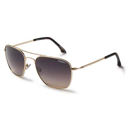 O'Neill Aerial Sunglasses - Polarized in Matte Gold/Brown/Peach Fade - Closeouts