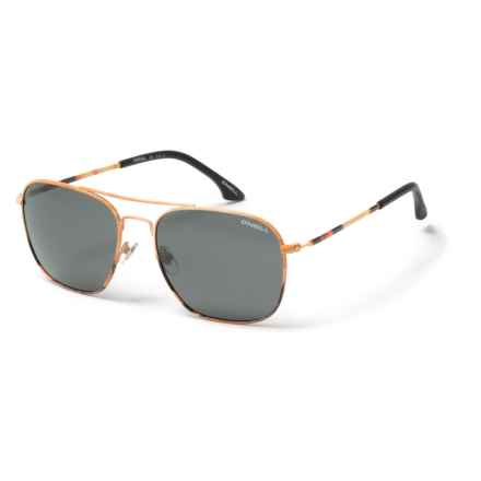 O'Neill Aerial Sunglasses - Polarized in Matte Sunset/Solid Smoke - Closeouts