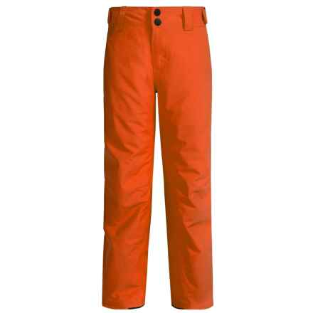 O'Neill Anvil Thinsulate® Snow Pants - Waterproof, Insulated (For Little and Big Boys) in Burnt Ochre - Closeouts