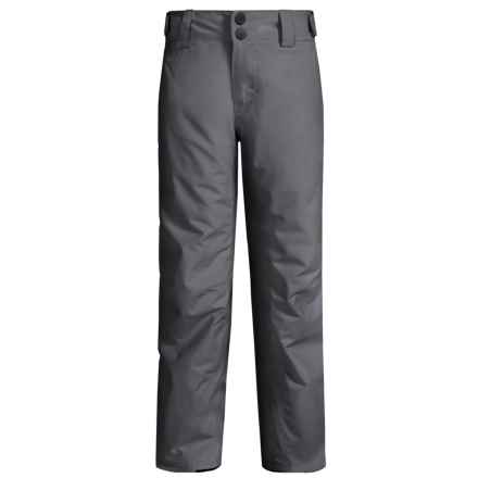 O'Neill Anvil Thinsulate® Snow Pants - Waterproof, Insulated (For Little and Big Boys) in Castle Rock - Closeouts
