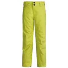 O'Neill Anvil Thinsulate® Snow Pants - Waterproof, Insulated (For Little and Big Boys) in Posion Yellow - Closeouts