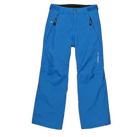 O'Neill Anvil Thinsulate® Snow Pants - Waterproof, Insulated (For Little and Big Boys) in Victoria Blue - Closeouts
