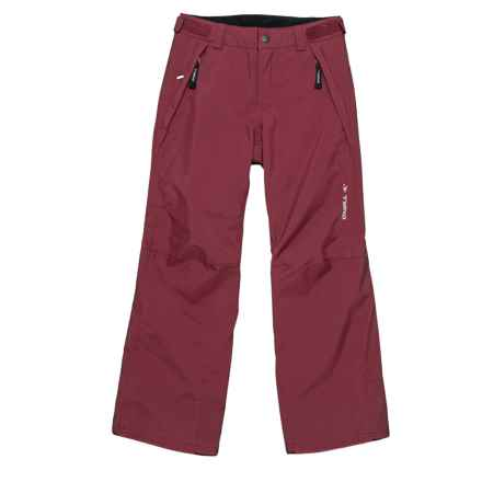 O'Neill Anvil Thinsulate® Snow Pants - Waterproof, Insulated (For Little and Big Boys) in Windsor Wine - Closeouts