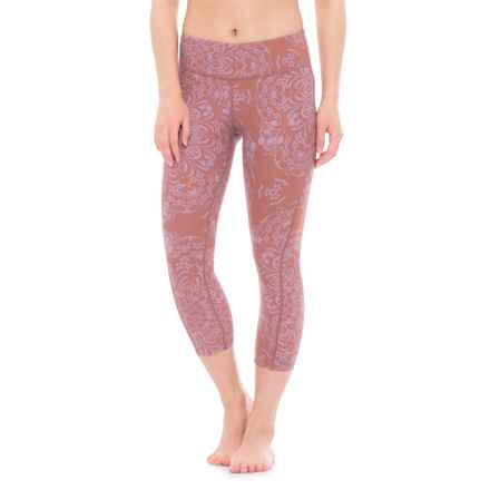 O'Neill Ascend Swimming Capris (For Women) in Caramel - Closeouts