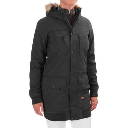 O'Neill Aviatrix Snowboard Jacket - Waterproof, Insulated (For Women) in Black Out - Closeouts