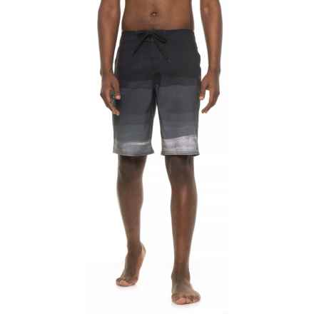 O'Neill Axiom Boardshorts (For Men) in Black Grey - Closeouts