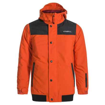 O'Neill Baller II Ski Jacket (For Little and Big Boys) in Burnt Ochre - Closeouts