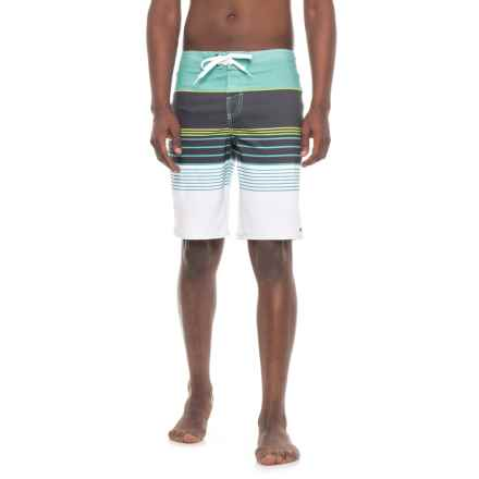 O'Neill Brisbane Collection Transfer Boardshorts (For Men) in Aqua - Closeouts