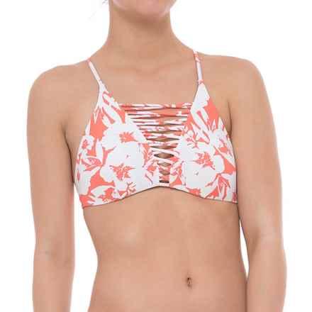 O'Neill Carmina Revo Bikini Top - Reversible (For Women) in Vanilla - Closeouts