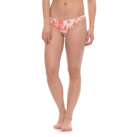 O'Neill Carmina Revo Classic Bikini Bottoms - Reversible (For Women) in Vanilla