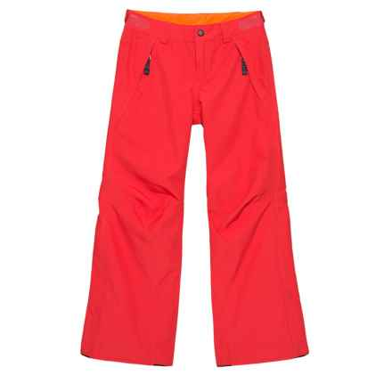 O'Neill Charm Ski Pants - Waterproof, Insulated (For Big Girls) in Poppy Red - Closeouts