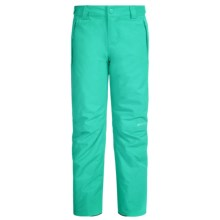 O'Neill Charm Snow Pants - Waterproof, Insulated (For Little and Big Girls) in Spearmint - Closeouts