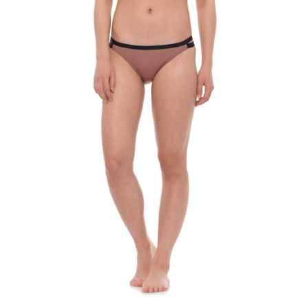 O'Neill Coastal Block Surf Bikini Bottoms - Briefs (For Women) in Caramel - Closeouts
