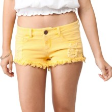O'Neill Community Denim Shorts (For Women) in Banana - Closeouts