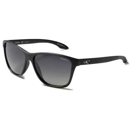 O'Neill Cooha Sunglasses - Polarized in Matte Black/Dark Green Gradiant - Closeouts