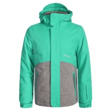 O'Neill Coral Ski Jacket - Waterproof, Insulated (For Little and Big Girls) in Spearmint - Closeouts