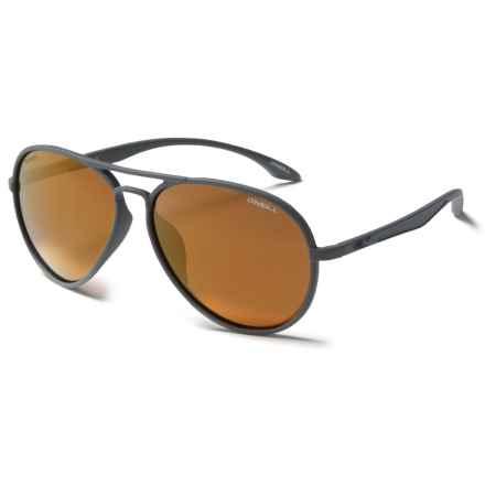 O'Neill Deck Sunglasses - Polarized in Matte Stone/Bronze Mirror - Closeouts