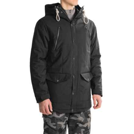 O'Neill Element Long-Fit Snowboard Jacket - Waterproof, Insulated (For Men) in Black Out - Closeouts