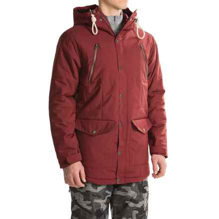 O'Neill Element Long-Fit Snowboard Jacket - Waterproof, Insulated (For Men) in Cabernet - Closeouts