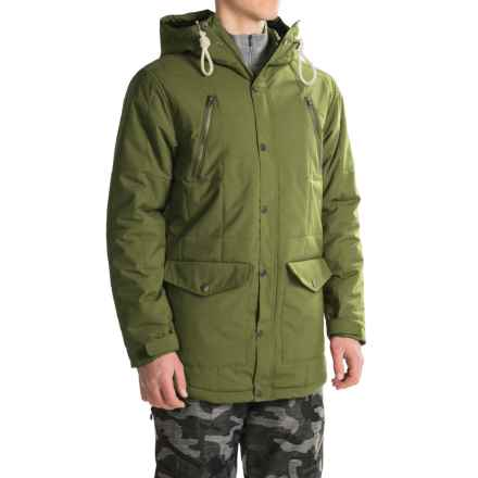 O'Neill Element Long-Fit Snowboard Jacket - Waterproof, Insulated (For Men) in Wintermoss - Closeouts