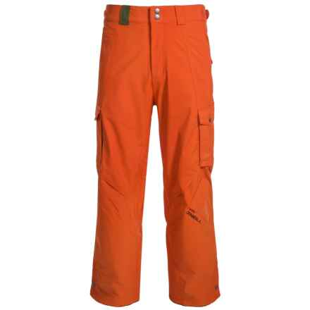 O'Neill Exalt Snowboard Pants - Waterproof (For Men) in Burnt Ochre - Closeouts