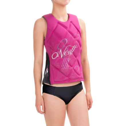 O'Neill Gem Competition Wakeboard Vest (For Women) in Festival/Graphite - Closeouts