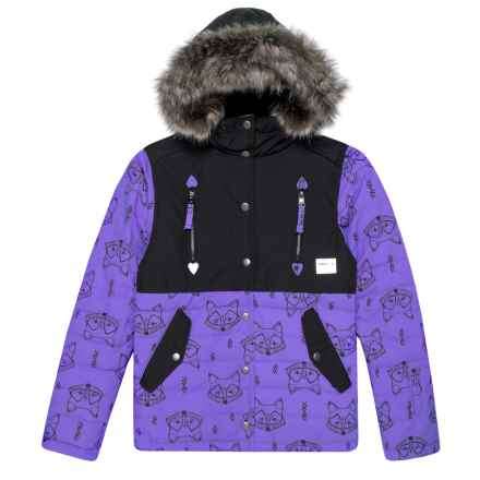 O'Neill Gemma Jacket - Waterproof, Insulated (For Little and Big Girls) in Purple - Closeouts