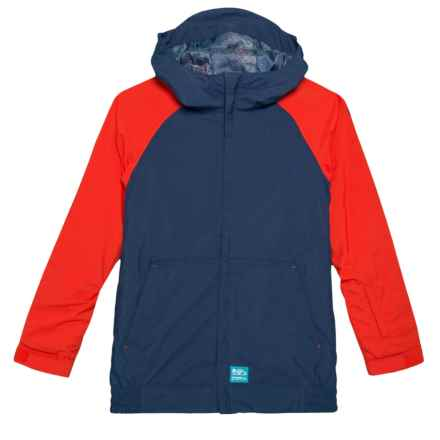 O'Neill Grid Ski Jacket - Waterproof, Insulated (For Little and Big Boys) in Ink Blue - Closeouts