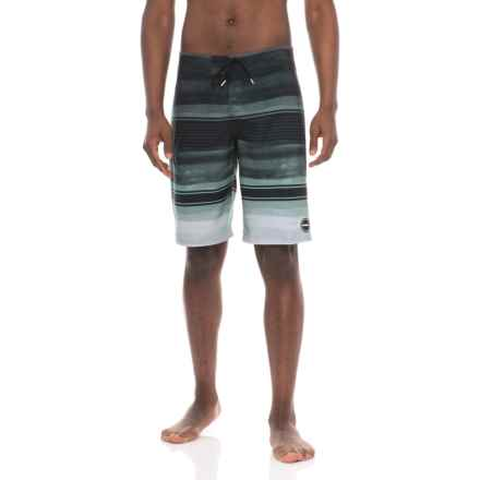 O'Neill Hyperfreak Heist Boardshorts (For Men) in Black - Closeouts