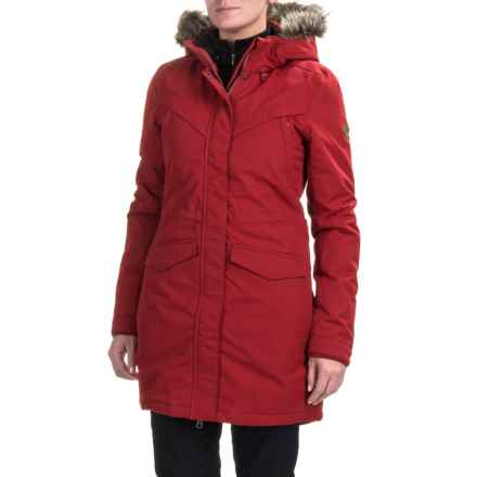 O'Neill Journey Parka - Waterproof, Insulated (For Women) in Red Dahlia - Closeouts