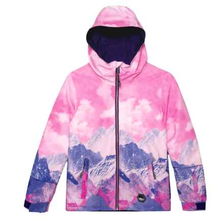 O'Neill Junior Jones Jacket - Waterproof, Insulated (For Little and Big Girls) in Pink Aop - Closeouts
