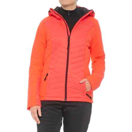 O'Neill Kinetic Shield Jacket - Waterproof, Insulated (For Women) in Fluoro Peach - Closeouts