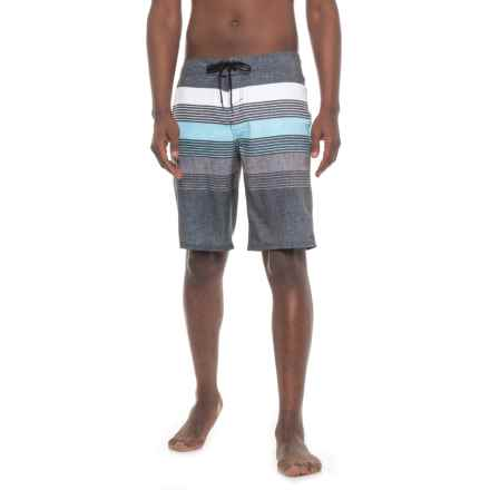 O'Neill Latitude Boardshorts (For Men) in Black - Closeouts