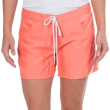 O'Neill Lilu Dynasuede Boardshorts (For Women) in Coral - Closeouts