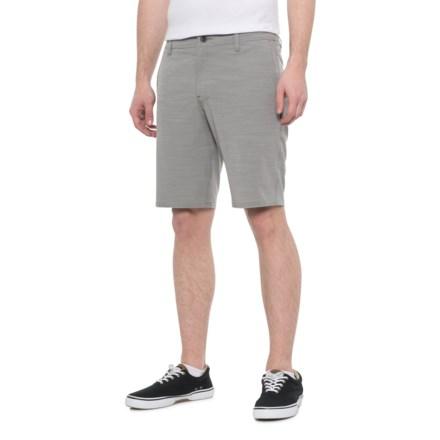 b1e0929fd6 O'Neill Locked Slub Hybrid Shorts (For Men) in Light Grey - Closeouts