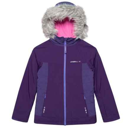 O'Neill MB Felice Ski Jacket - Waterproof, Insulated (For Little and Big Girls) in Parachute Purple - Closeouts