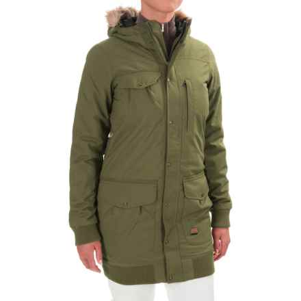 O'Neill O'Neill Aviatrix Snowboard Jacket - Waterproof, Insulated (For Women) in Wintermoss - Closeouts