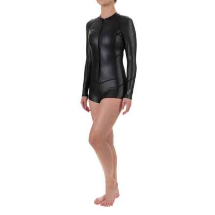 O'Neill Original 1mm Wetsuit - Long Sleeve (For Women) in Black/Black/Black - Closeouts