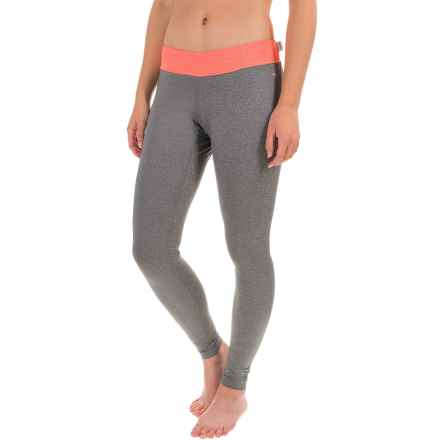 O'Neill O'Zone Compression Tights - UPF 50+ (For Women) in Graphite/Light Graphite - Closeouts