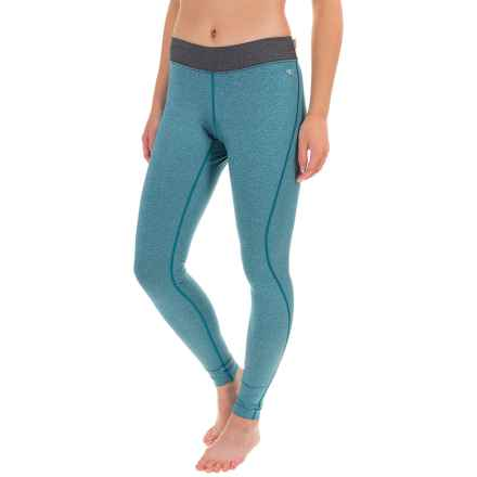 O'Neill O'Zone Compression Tights - UPF 50+ (For Women) in Light Teal/Black - Closeouts