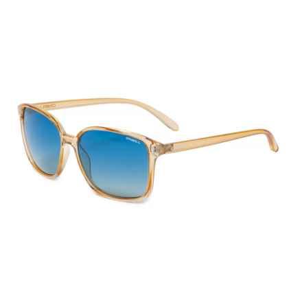 O'Neill Praia Sunglasses - Polarized (For Women) in Gloss Amber Crystal/Blue Smoke Gradient
