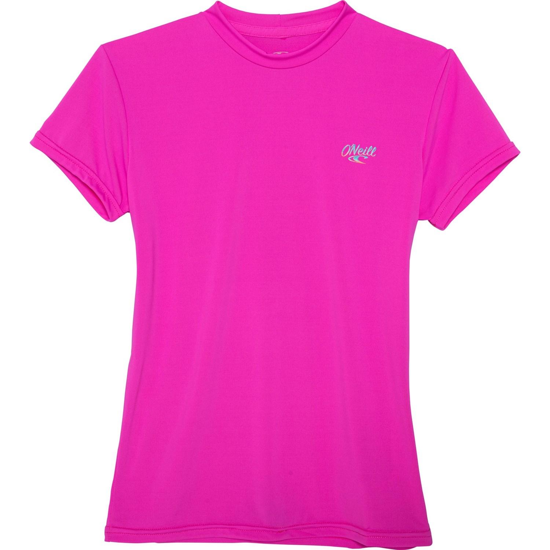 Short Sleeve Sun Shirt O/'Neill Kids ONeill Girls Premium Skins Upf 50