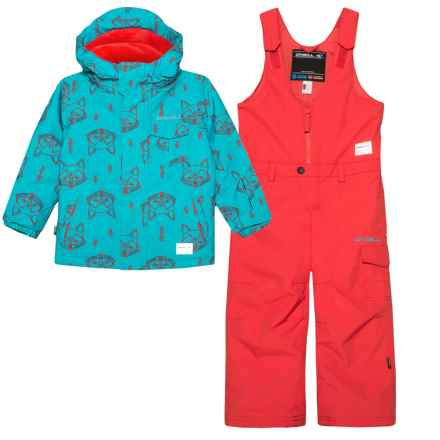 O'Neill Princess Jacket and Pants Suit - Waterproof, Insulated (For Toddler and Little Girls) in Teal Blue - Closeouts