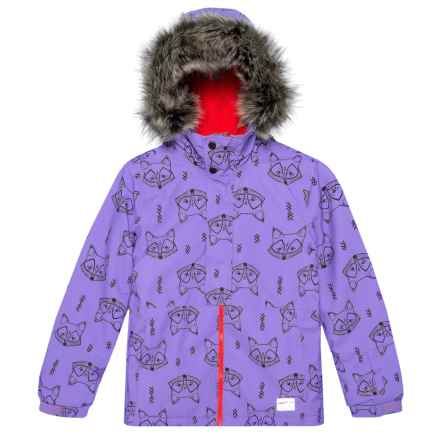 O'Neill Radiant Jacket - Waterproof, Insulated (For Little and Big Girls) in Purple - Closeouts