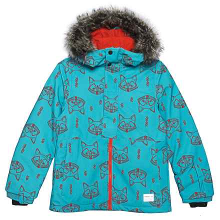 O'Neill Radiant Jacket - Waterproof, Insulated (For Little and Big Girls) in Teal Blue - Closeouts