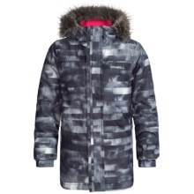 O'Neill Radiant Ski Jacket - Waterproof, Insulated (For Little and Big Girls) in Grey Aop - Closeouts